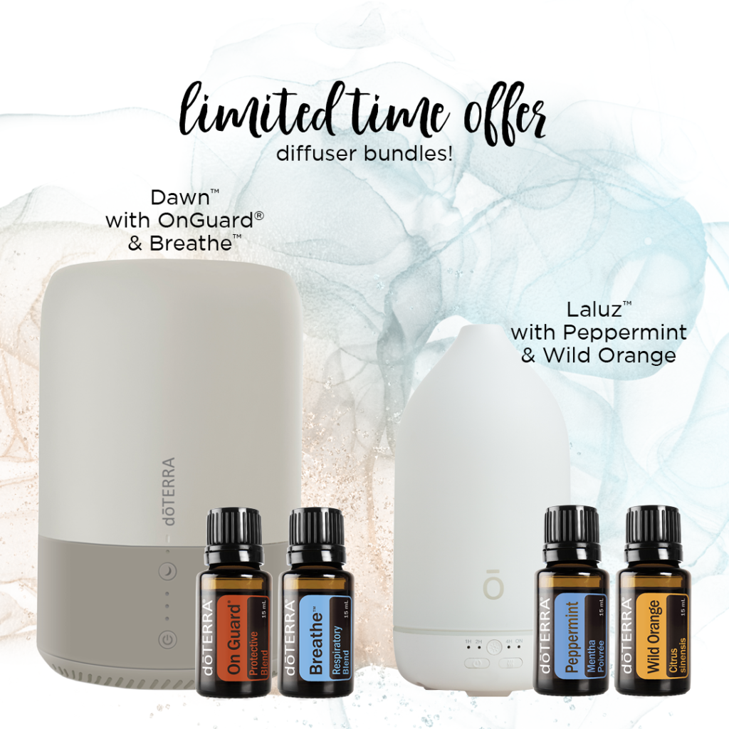 March 2021 LImited Time Offer Diffusers